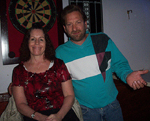 Alison & Joe at The Blue Parrot