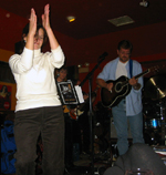 Dancing to The Outliers at The Olde Speonk Inn