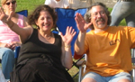 Diane & Roger at the Riverhead Blues Festival