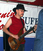 Mark L. at the Riverhead Blues Festival