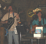 Mark T. & Laurie at A&M Roadhouse