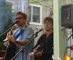 Mark T. & Laurie at Bayville Block Party