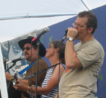 Mark T., Laurie & Joel at the Riverhead Blues Festival