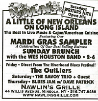 Nawlins' Grille Ad