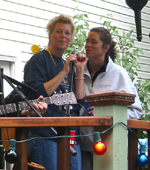 Singing with The Outliers at Bayville Block Party